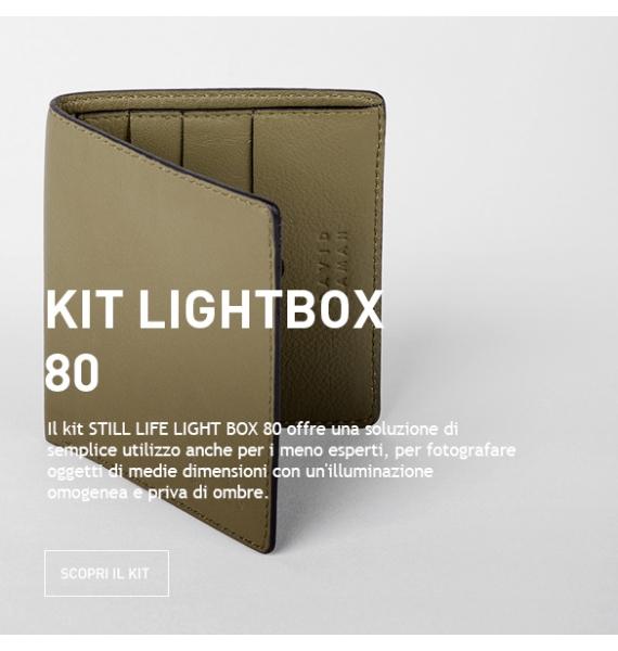 KIT STILL LIFE LIGHT BOX 80