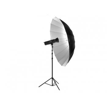 Ombrello Parabolico Bianco e Nero